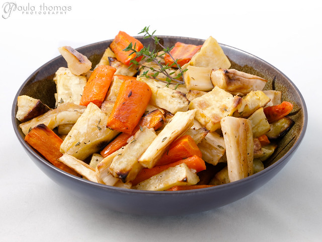 Maple roasted root Vegetables with Sherry Vinegar | Flickr - Photo ...