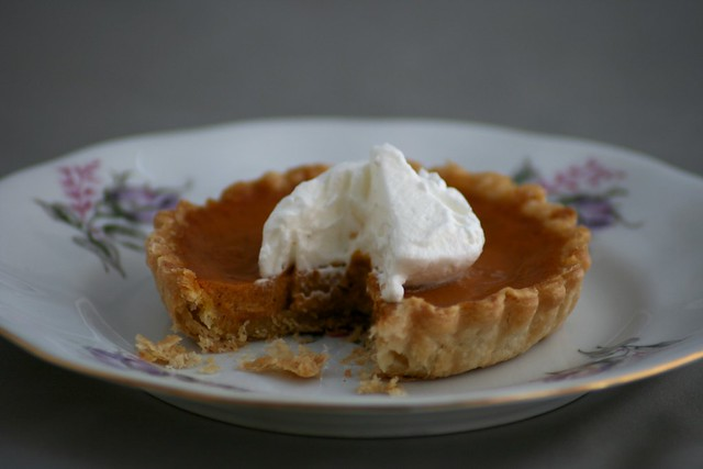 Pumpkin Pie with Spiked Whipped Cream | Flickr - Photo Sharing!