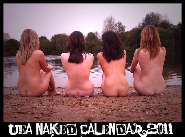 UEA Naked Calendar 2011 Front Cover Shot