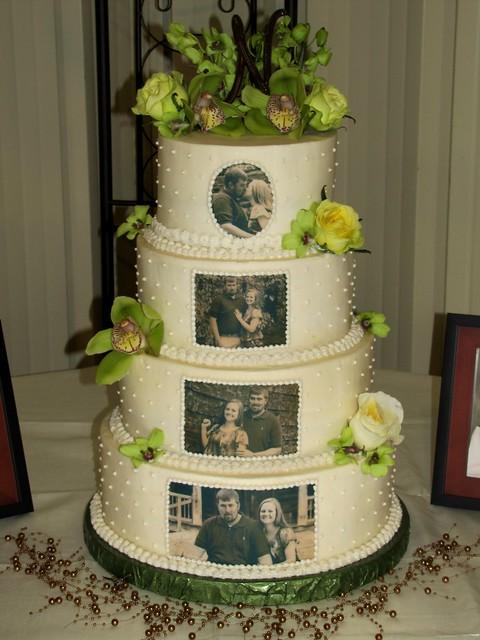 Edible Image Wedding Cake Flickr - Photo Sharing!
