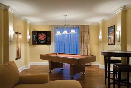 Presidential Suite Pool Table The Fountains Bluegreen
