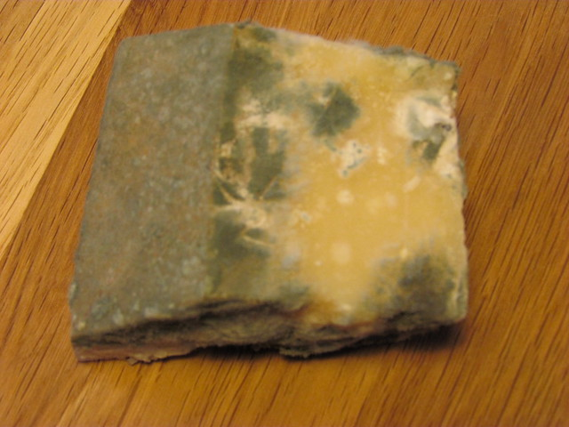 how to clean mold off of cheese