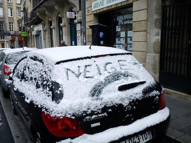 Neige sur Bordeaux - Décembre 2010 - DSC00045  Flickr - Photo ...