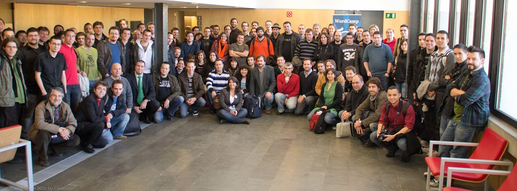 Foto Familia WordCamp Spain 2010