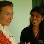 Audrey Learning about Microfinance in Rural West Bengal, India