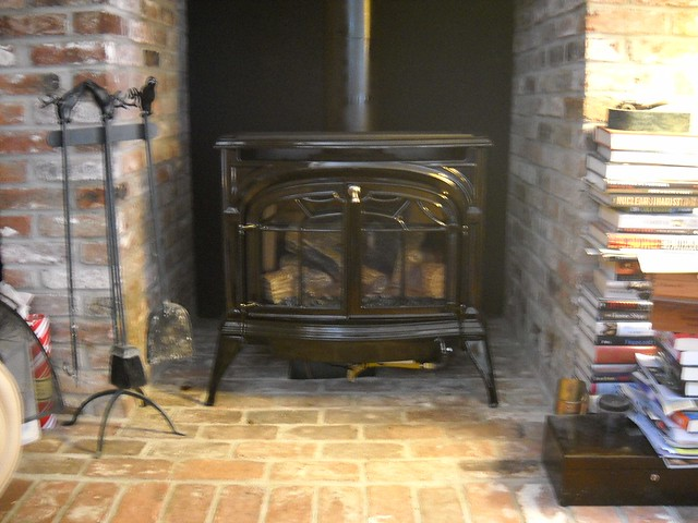 Vermont Castings Wood Stove Installed In Nashua Nh