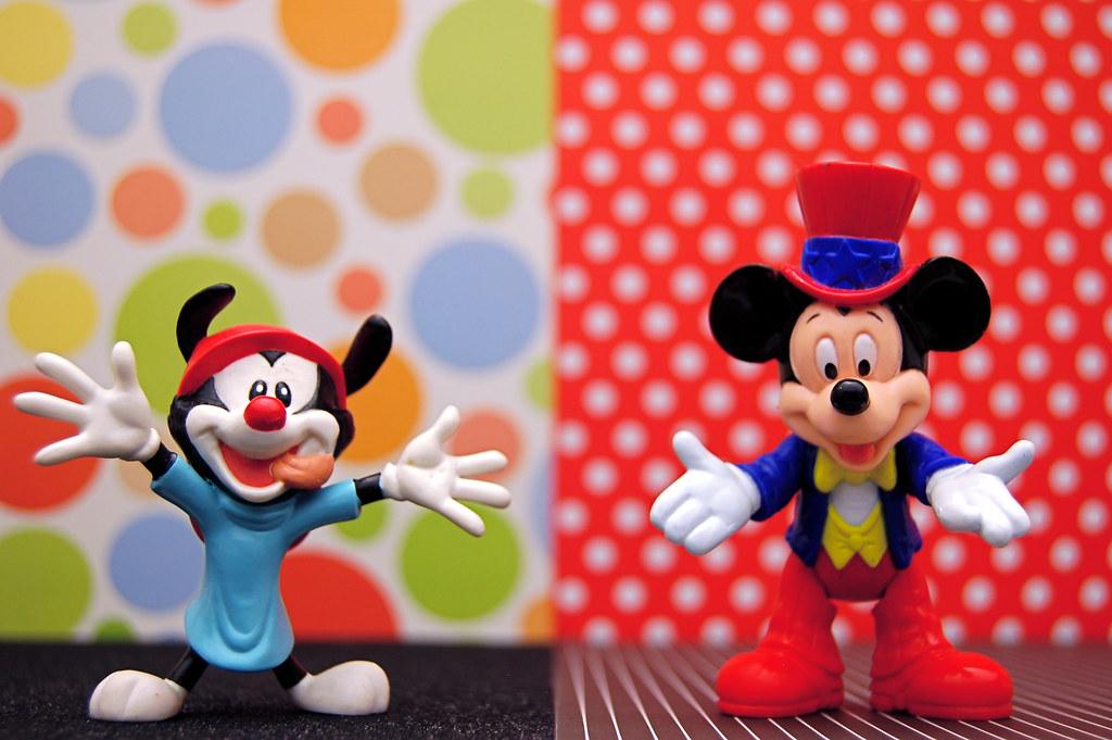 Wakko Warner vs. Mickey Mouse (355/365)