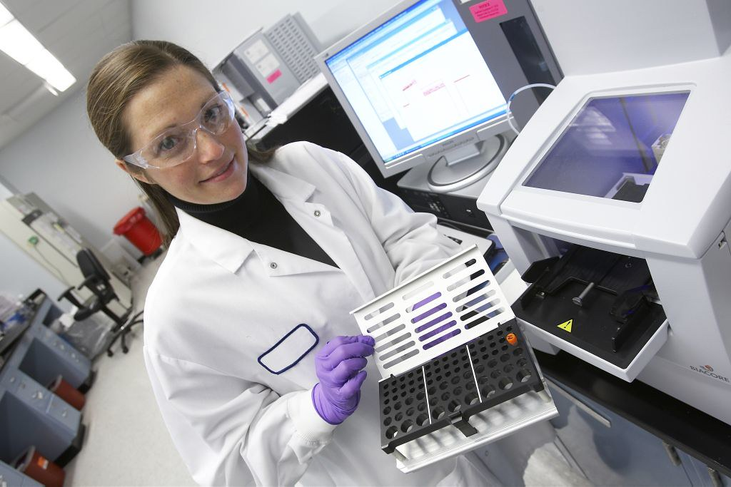 Checking antibody/antigen interaction | Swiftwater Biacore T