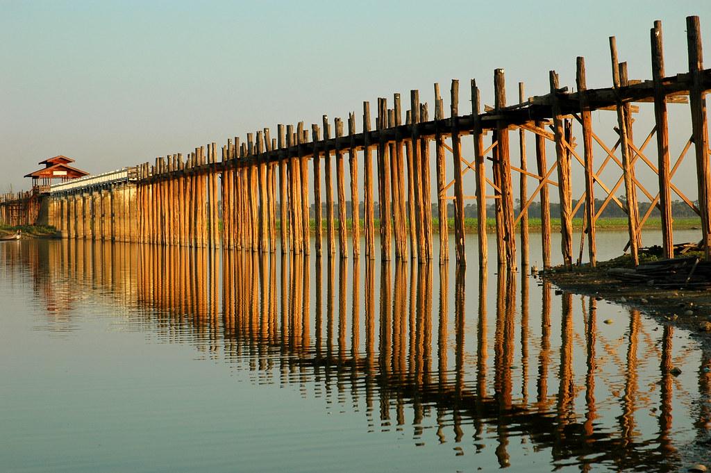 U Bein bridge - Amarapura - Myanmar