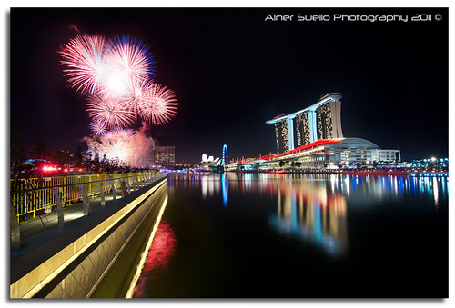 """Welcome New Year 2011"" :: Countdown @ Marina Bay Singapore"