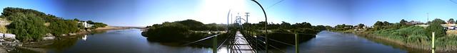 Puente colgante claromecopante