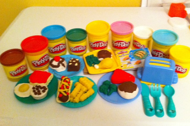 Play doh food flickr photo sharing for Play doh cuisine