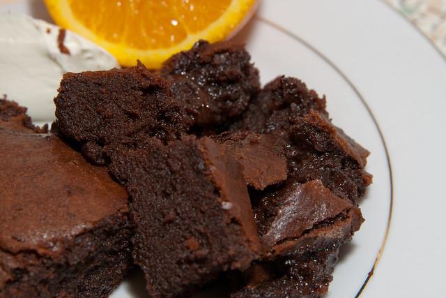 Chocolate brownie dessert | Flickr - Photo Sharing!