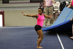 TWU Gymnastics Floor - Rashonda Cannie