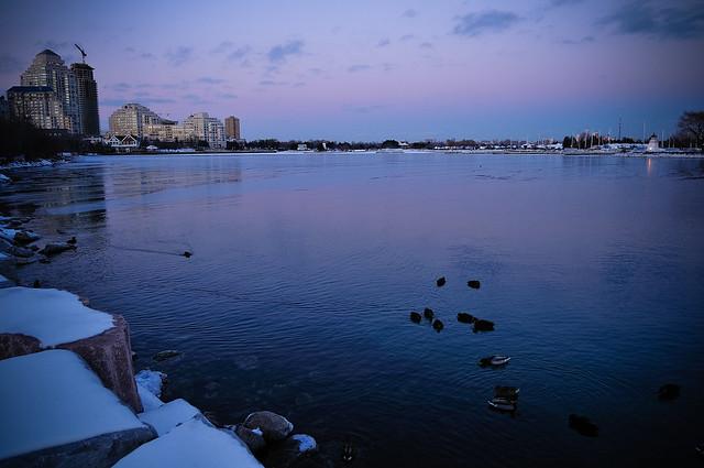 Lake Ontario, from Mimico (Toronto)