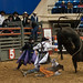 Salem Rodeo Clowns Protect Bull Rider