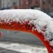 yarn + snow = nice by damonabnormal