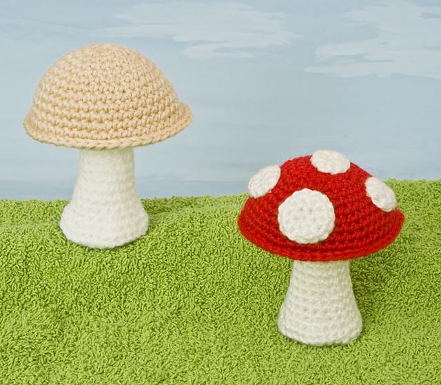 Amigurumi Mushroom Crochet Patterns : Abels Blog - Free amigurumi patterns mushroom