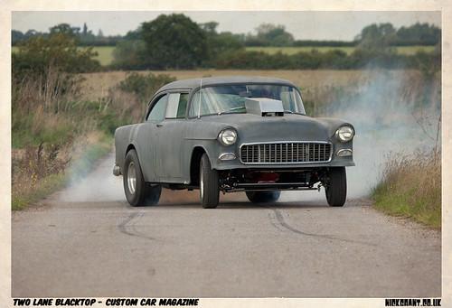 2 Lane Blacktop Double Trifive Com 1955 Chevy 1956