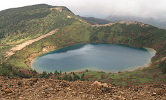 mountain, reservoir, volcanic crater, lake, ridge, tarn, fell, crater lake,