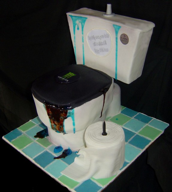 Birthday Cake Images Toilet : Toilet Birthday Cake Flickr - Photo Sharing!