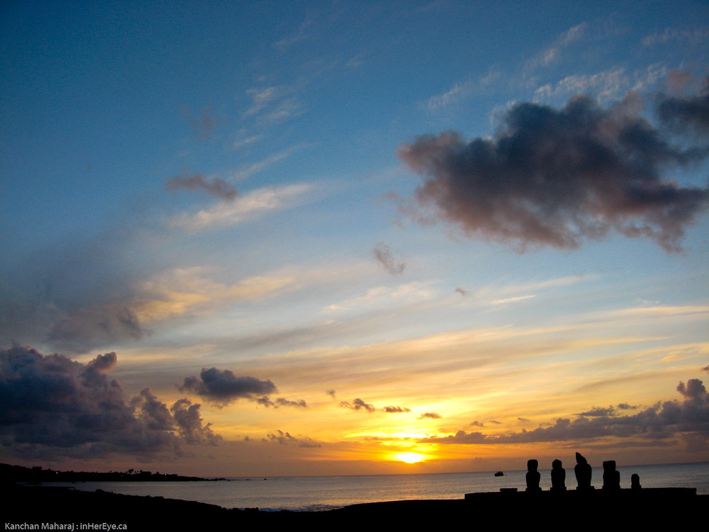 56/365 Easter Island Sunset