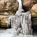 Циповский водопад зимой Tsipovsky Falls in winter