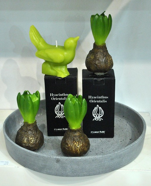 RoMi Hyacinth & Bird candles