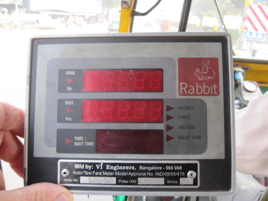 Rabbit Meter India Tuk-Tuk