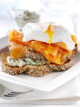 Smoked Salmon & Egg Brunch