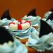 Shark cupcakes for a little boy's bday!