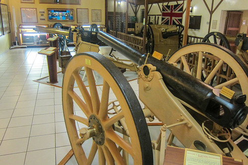 German canons recovered from Lake Otjikoto