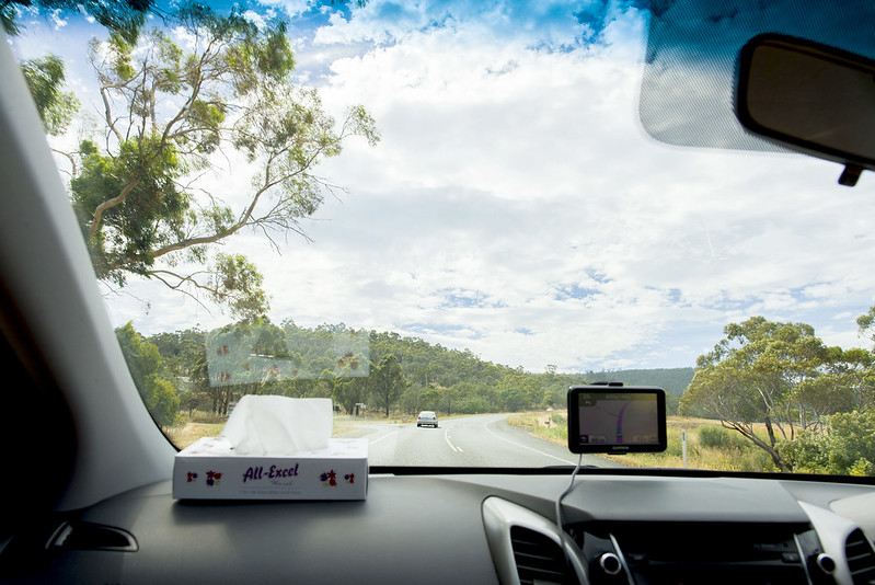 driving in Tasmania
