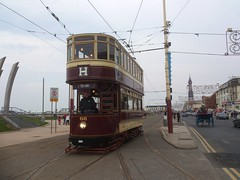 Built by the United Electric Car Company (Dick Kerr, Preston) in 1902, Bolton tramcar 66 is by far the oldest vehicle currently in use on the Blackpool network at the staggering age of 112. As with most trams built at that time, 66 was originally an open top tram, the cover being a later addition.  ...