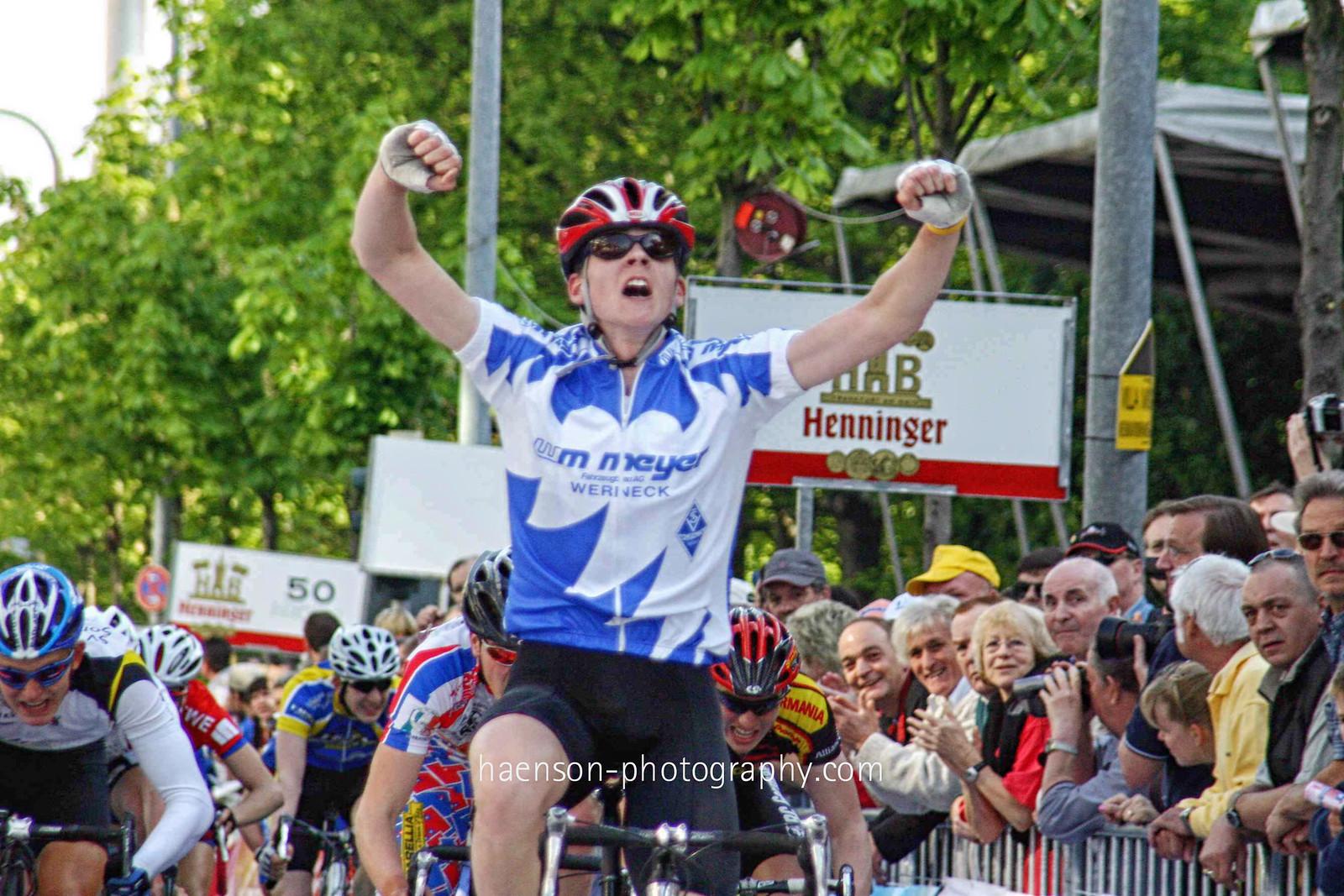 Maximilian Hornung gewinnt Henniger Rennen vor John Degenkolb