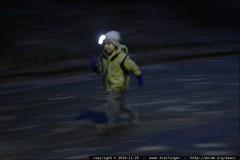 sequoia running in the dark