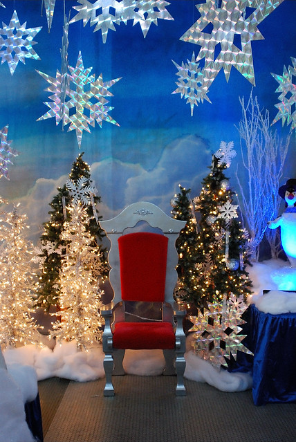 Santa's Throne, Lincoln Park Zoo, Chicago, 2010