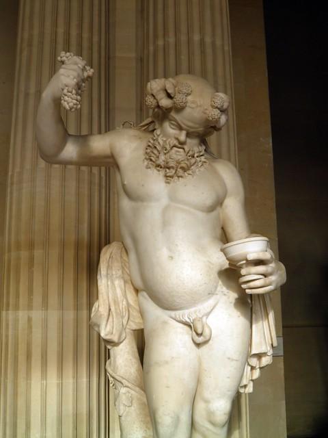 Drunken Silenus, Louvre Museum