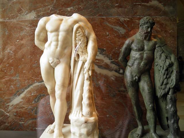 Hercules Farnese, Louvre Museum