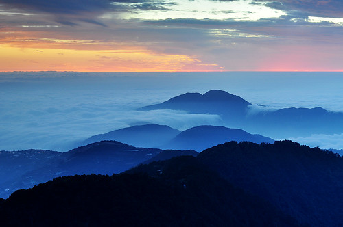 Sunset in Mt. Hehuan 合歡主峰夕照2[Explore]