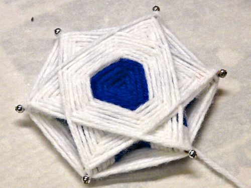 Yarn Star for Hanukkah