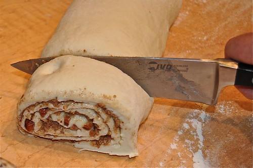 cinnamon buns/cut rolls