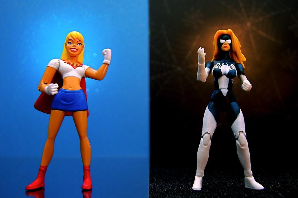 Supergirl vs. Spider-Woman (337/365)