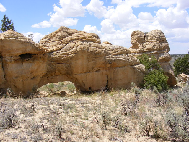 New Mexico Natural Arch NM-196