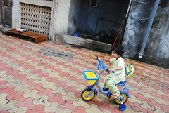 Marziya And Her Cycle by firoze shakir photographerno1