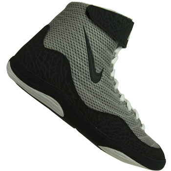 Nike Inflict Wrestling Shoes in Gray and Black 4Inflict