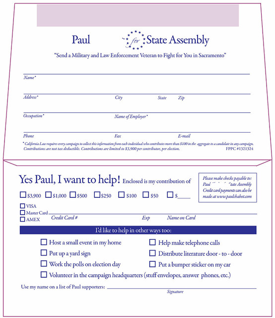 Donation envelope template word for Fundraising envelope template