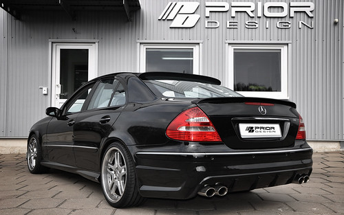 Mercedes E Class W211 Full Body kit, Rear Bumper, E55 E63 AMG