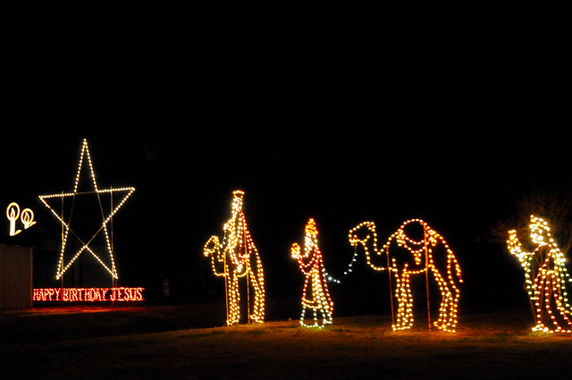 Christmas Lights In North Carolina