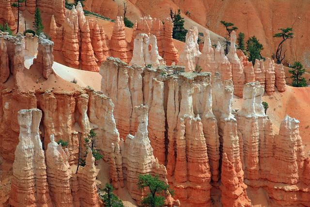 Colorful pinnacles at Bryce Canyon